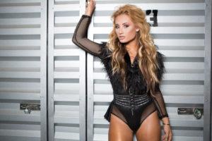 Montana Tucker in Miami Beach performing her new single